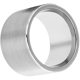 16mm tungsten ring with brushed finish