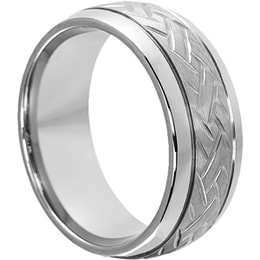 new tungsten ring images being added to forever metals website