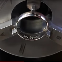engraving tungsten rings