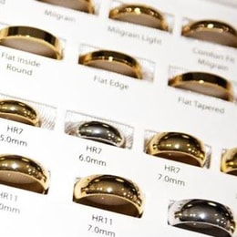 shopping for wedding bands