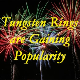 tungsten rings gaining popularity