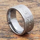 10mm oracle carved knotwork celtic rings
