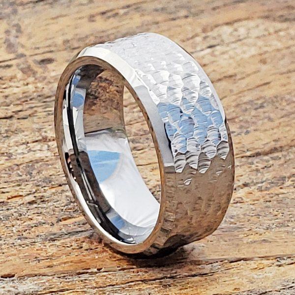 Forever-Metals-silver-beveled-hammer-ring