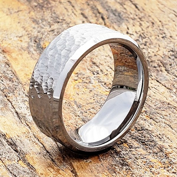 Forever-Metals-silver-beveled-hammer-rings