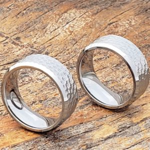 Forever-Metals-silver-beveled-hammered-ring