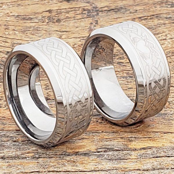 clatter-10mm-irish-bands-beveled-claddagh-rings