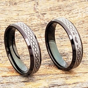 clatter-promise-black-beveled-claddagh-rings
