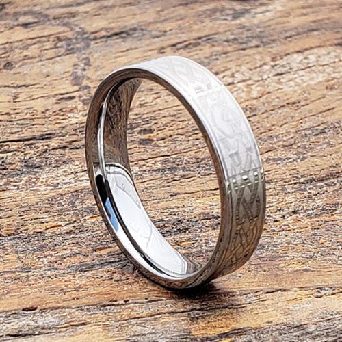 Clatter Commitment Irish Flat Claddagh Rings