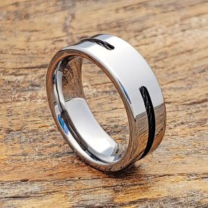 corvus-8mm-mens-black-cable-polished-inlay-ring