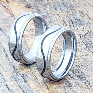 doppler-black-grooved-inlay-rings