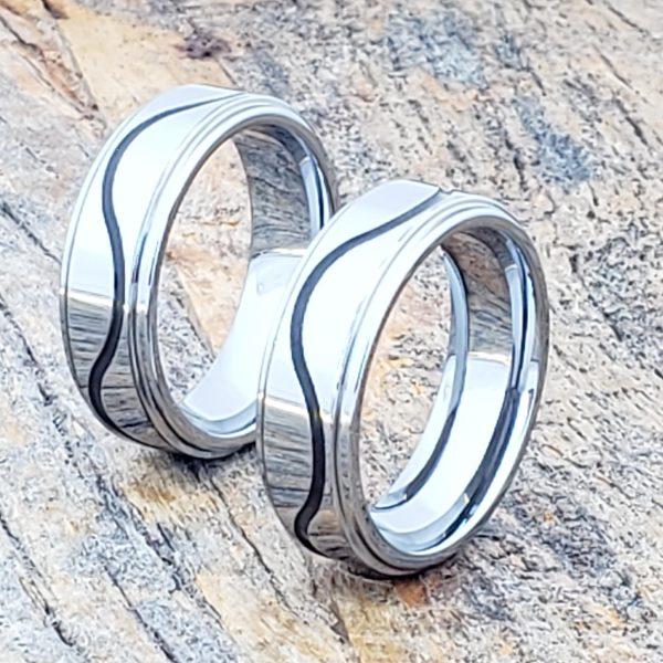 doppler-black-grooved-inlay-rings