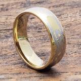 gold knot celtic rings