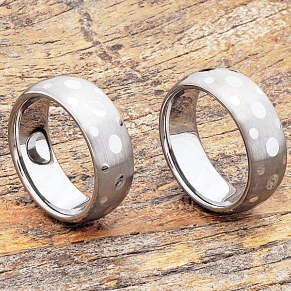 grace-matching-matte-brush-unique-rings