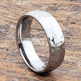 hammered ring polished