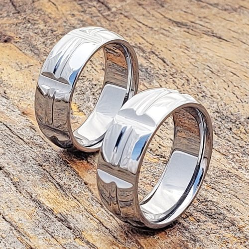 Hydra Ultra Polished Unique Rings