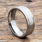 irish love grooved celtic rings