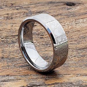 irish style beveled claddagh rings