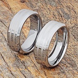 leda-matching-engraved-inlay-rings