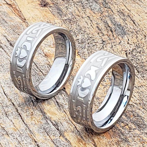 legend-8mm-engagement-carved-knotwork-claddagh-rings