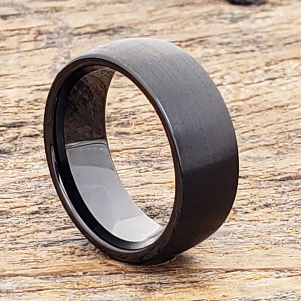 manhattan-brushed-8mm-black-ceramic-rings