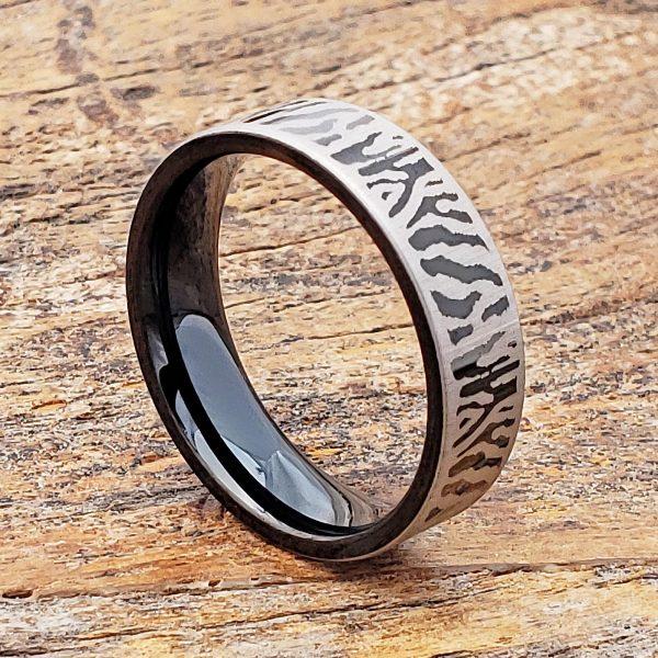 mason-black-6mm-flat-unique-rings