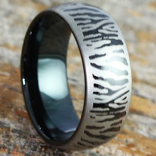 Mason Black Metal Unique Rings