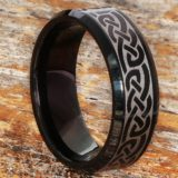 medieval-irish-black-beveled-celtic-rings