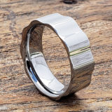mens gear polished unique rings