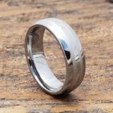 mens parallel inlay ring