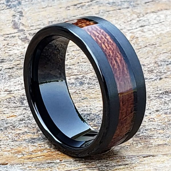 neptune-mens-black-brushed-wooden-ring