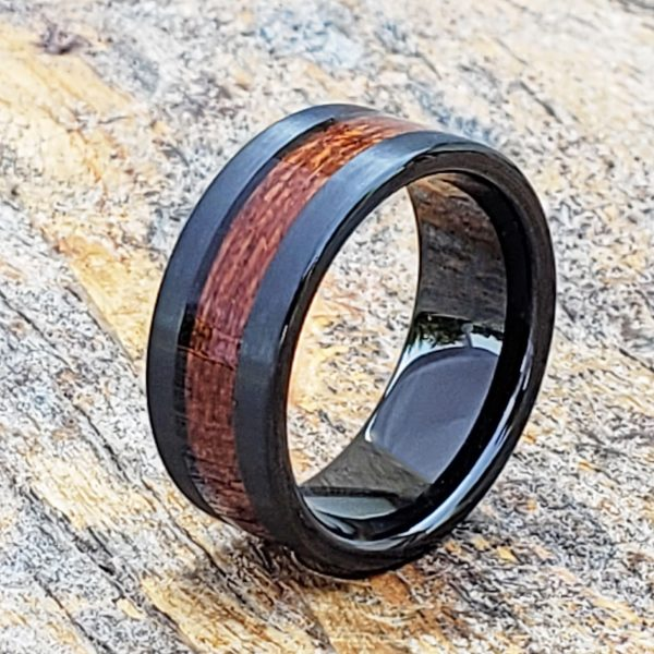 neptune-mens-black-brushed-wooden-rings