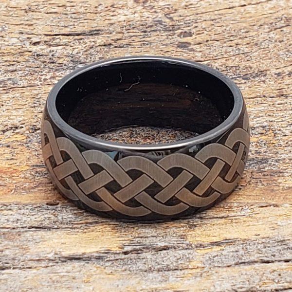 octavian-unique-black-rope-celtic-rings-10mm