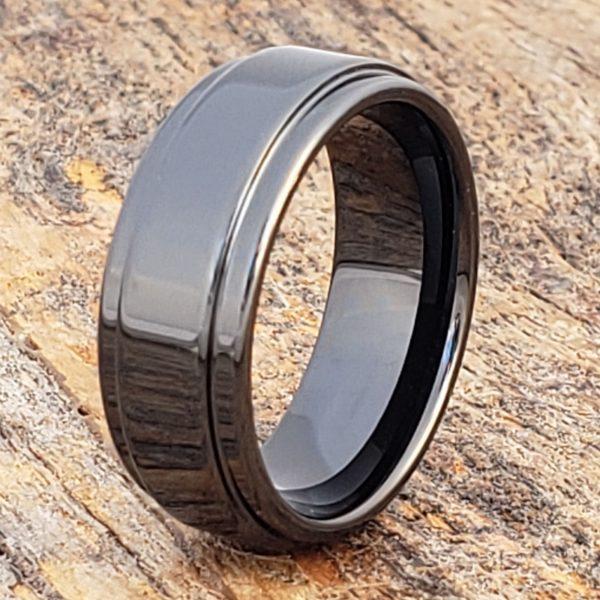 plato-black-8mm-step-edges-ceramic-rings