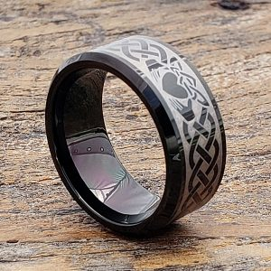 promise-men-irish-black-beveled-claddagh-rings