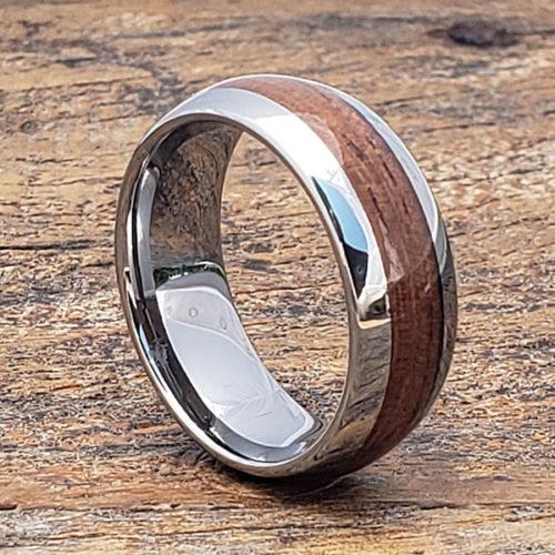 Neptune Redwood Wooden Rings