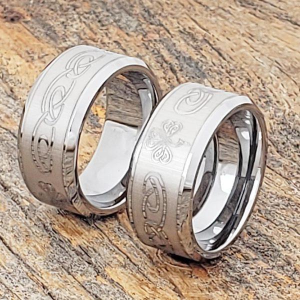 shamrock-10mm-irish-signet-rings