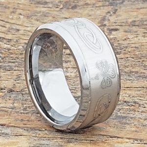 shamrock-irish-10mm-signet-rings