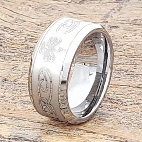 shamrock-irish-signet-10mm-rings