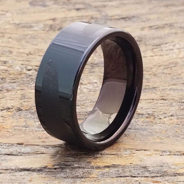 trojan-black-laser-engraved-unique-ring