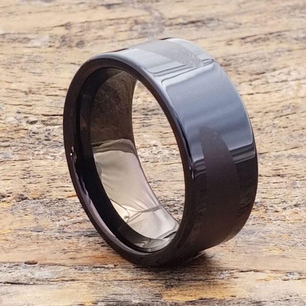 trojan-black-laser-engraved-unique-rings
