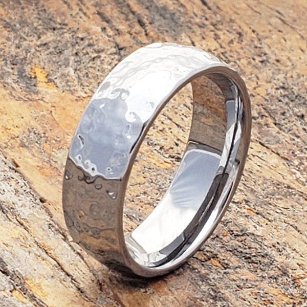 ultra-polish-hammered-ring