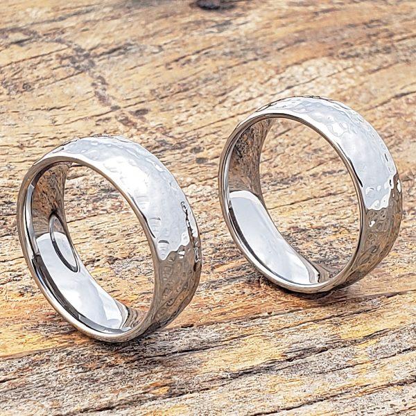 ultra-polished-hammered-ring