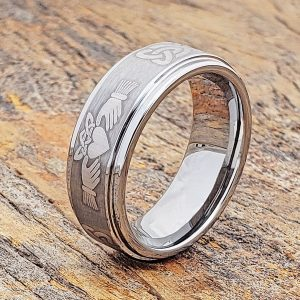 unique-celtic-brushed-claddagh-rings