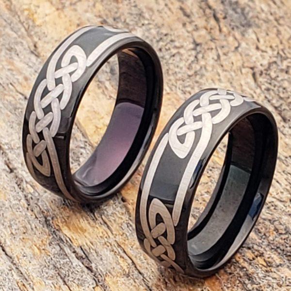 viking-7mm-black-knot-carbide-celtic-rings