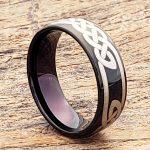 viking-black-7mm-knot-carbide-celtic-rings