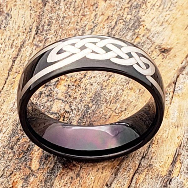 viking-black-knot-carbide-7mm-celtic-rings