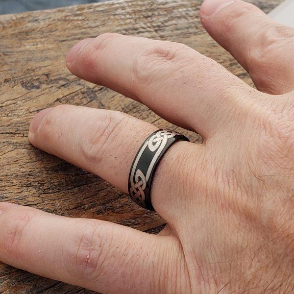 viking-black-knot-carbide-celtic-7mm-rings