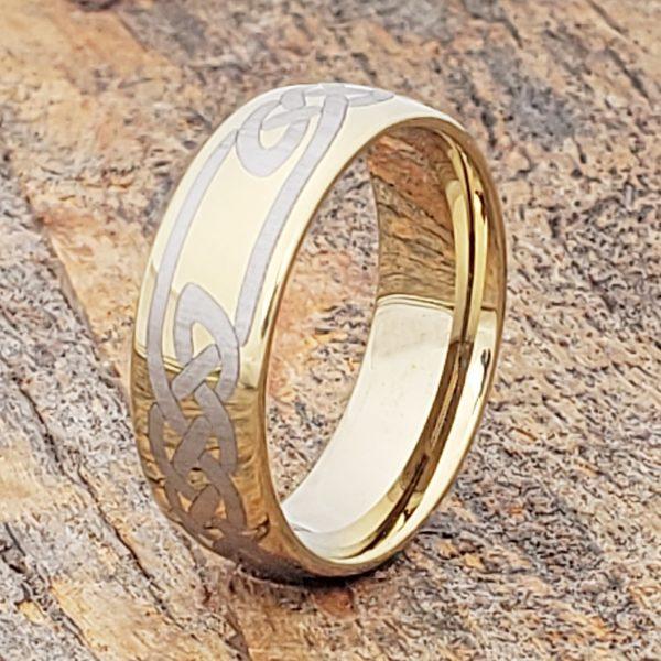 viking-gold-knot-7mm-celtic-rings