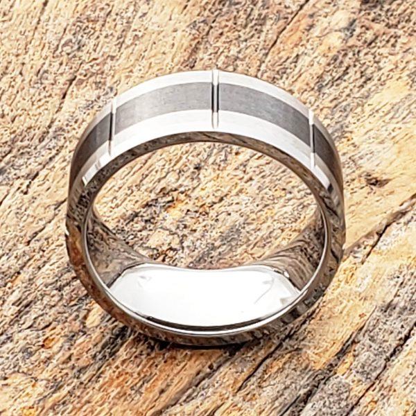 virgo-brushed-black-9mm-inlay-ceramic-rings