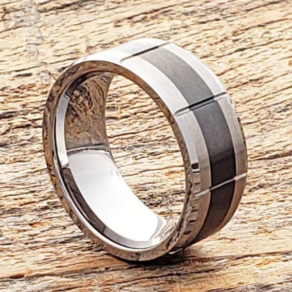 virgo-brushed-black-inlay-9mm-ceramic-rings